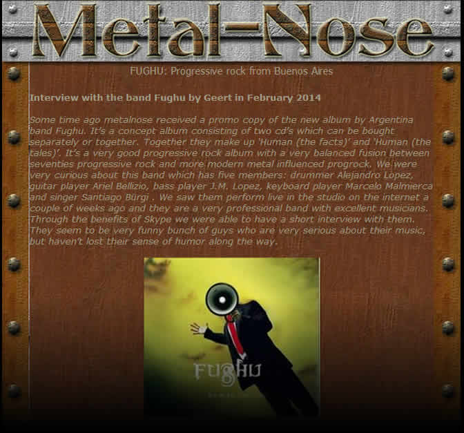 Metal Norse Fughu Interview